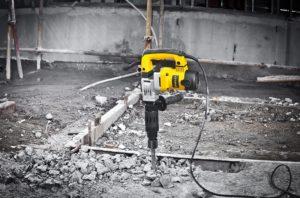 Электрический Отбойный Молоток Как Работает По Бетону