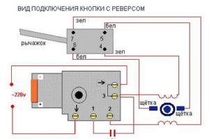 Электросхема Дрели С Регулятором Оборотов
